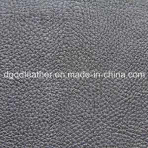 Fire Resistant BS5852-1&-2 Sofa PU Leather Qdl-50215 pictures & photos