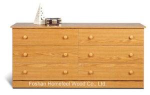 New Wooden Bedroom Storage 6 Drawer Dresser Cabinet pictures & photos