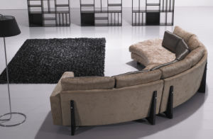 Sectional Sofa (LR616) in Fabric Corner Sofa