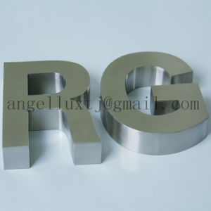Customization Brush Stainless Steel 3D Word Wall Advertising Sign Letter pictures & photos
