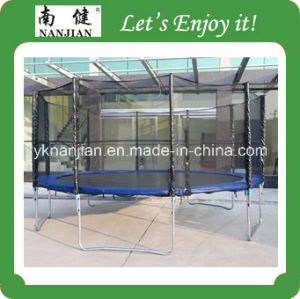 Cheap Outdoor Trampoline with Safety Net pictures & photos