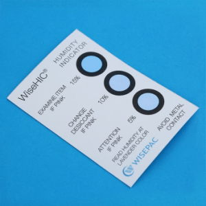 5%-60% Cobalt Chloride (HIC) Humidity Indicator Card (WiseHIC) pictures & photos