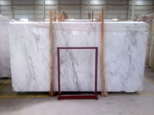 Quality Volakas White Marble Slabs Wall Floor Tiles pictures & photos