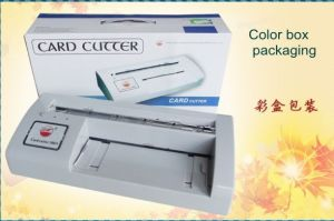 Name Card Cutting Machine (WD-300B) Elcetric Card Cutter pictures & photos