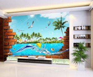 Digtal Printing Natural PVC Wallpaper pictures & photos