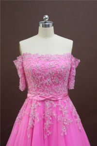 Pink Wedding Gown. Princess Party Gown pictures & photos