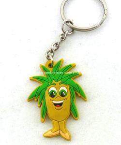 Custom Promotional Soft PVC Keyring Key Ring Keychain Key Chain pictures & photos