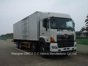 Hino Euro 4 700 Series 8*4 Cargo Truck