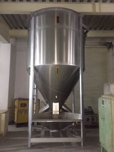 Stainless Steel Plastic Color Mixer/Blender with 1500kg Capacity pictures & photos
