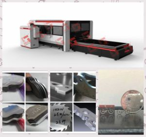 CNC Fiber Laser Cutting Machine with CE Certificate pictures & photos