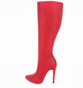 Classic Pop Women High Heeled Ladies Overknee Boots (A 999) pictures & photos