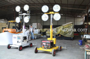 M500 Series with 5kVA Generator Mobile Light Tower Generator Set/Diesel Generator Set/Diesel Generating Set/Genset/Diesel Genset pictures & photos