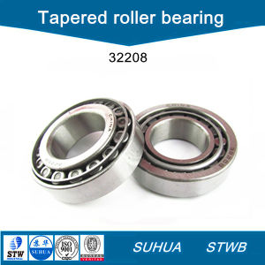 Carbon Steel Single Row Tapered Roller Bearing (C32208) pictures & photos