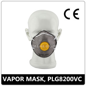 Face Mask with Active Carbon and Valve (PLG 8200VC) pictures & photos