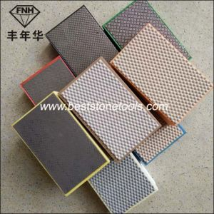 Electroplated Diamond Hand Polishing Pads pictures & photos