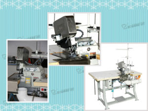 Kb4a Mattress Overlocking Machine for Panel Fabric pictures & photos