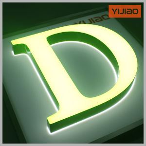 Hot Sale of Acrylic Luminous Characters/Signage/Letter pictures & photos