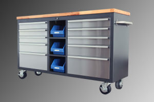 60 Stainless Steel Rolling Tool Chest pictures & photos