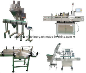 Plastic Bottle Powder Filler and Sealer Production Line /Turnkey pictures & photos