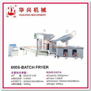 600s-Batch Fryer Frying Machine (Frying Snack, Peanuts, Beans) pictures & photos