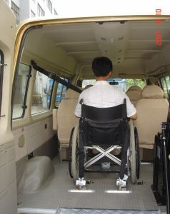 Wheelchair Restraint &Tie Down System for Wheelchair Safety (X-801-1) pictures & photos