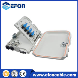 Hot Sale FTTH 8 Fibers Distribution Box with PLC Splitter, Adaptor/Caja Terminales pictures & photos