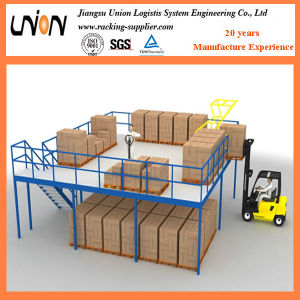 High Quality Steel Structure Platform System in Storage pictures & photos