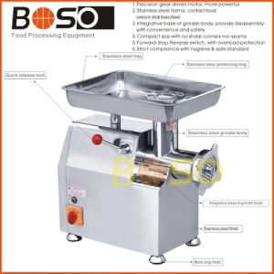 Heavy Duty Stainless Steel Electric Meat Grinder pictures & photos