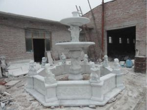 Granite / Marble Stone Sculpture Water Garden Fountain for Decoration pictures & photos