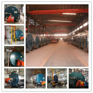 Fire Tube Automatically Oil/Gas Fired 8ton/Hr Steam Boiler pictures & photos