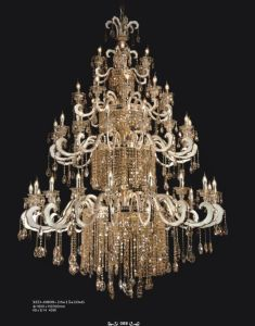 Decorative Luxury Crystal Chandelier for Hotel Project pictures & photos