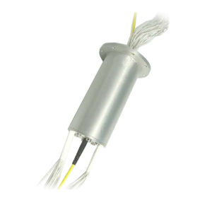 Optical Fiber Connector Slip Ring Rotary Joint 1 Circuit Fiber/ 30 Circuits IP68 for Harsh Environments