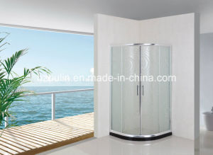 Simple Bathroom Shower Screen (AS-926 without tray) pictures & photos
