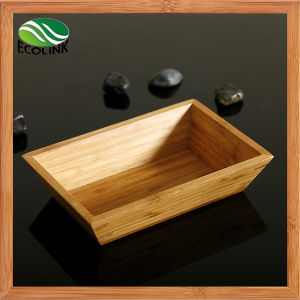 Rectangular Bamboo Salad Bowl/ Bamboo Bowl pictures & photos