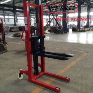 Hydraulic Hand Lift Stacker Ctyt) pictures & photos