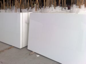 Artificial White Marble for Tiles/ Slabs pictures & photos