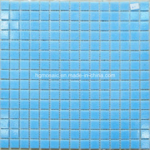 Swimming Pool Mosaic Cheap Mosaic Blue Color Withdot Mosaic pictures & photos