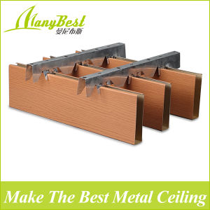 2017 Hot Sale Building Material Aluminum Baffle Ceiling Tiles for Commercial Project pictures & photos