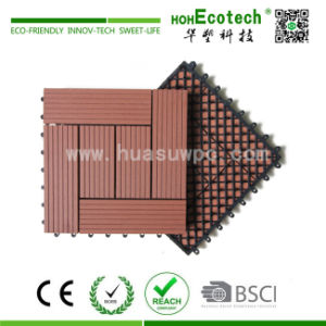 300X300mm Outdoor DIY WPC Deck Tile (HS30S30-1) pictures & photos