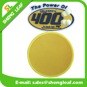 Householder Round Soft PVC Silicone Glass Coaster (SLF-RC014) pictures & photos