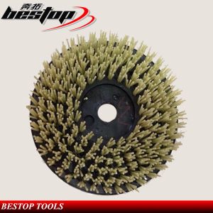 D200mm Round Shaped Diamond Sand Brush for Granite Polishing pictures & photos