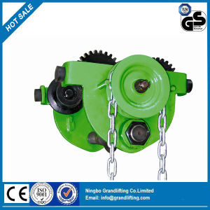 P Type Hand Chain Geared Trolley pictures & photos