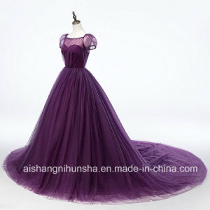 Simple Dream Dress Romantic Vintage Wedding Dress Lace up pictures & photos