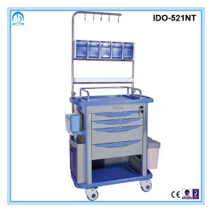 Ido-521nt High Quality Hospital ABS Nursing Cart pictures & photos