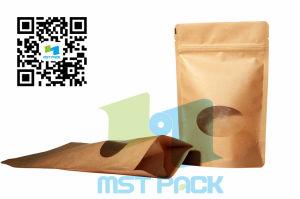 Kraft Paper Box Pouch +Window / Gusset Bag pictures & photos