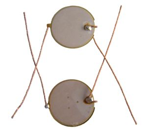 20mm 1MHz Piezo Ceramic Ultrasonic Transducer pictures & photos