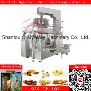 Cashew Nuts Stand Pouch High Speed Packing Machine pictures & photos