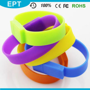 Smart Bracelet USB Wristband USB Flash Memory Stick 8GB Silicone Wristband 16GB pictures & photos