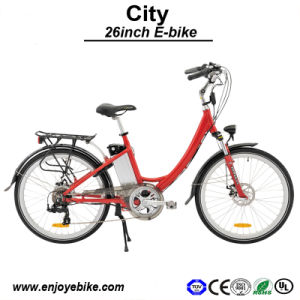 LiFePO4 City Bike Urban Electric Bicke E-Bicycle (PE-TDF02Z)