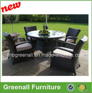 4 Seater Dining Set Rattan Outdoor Furniture pictures & photos